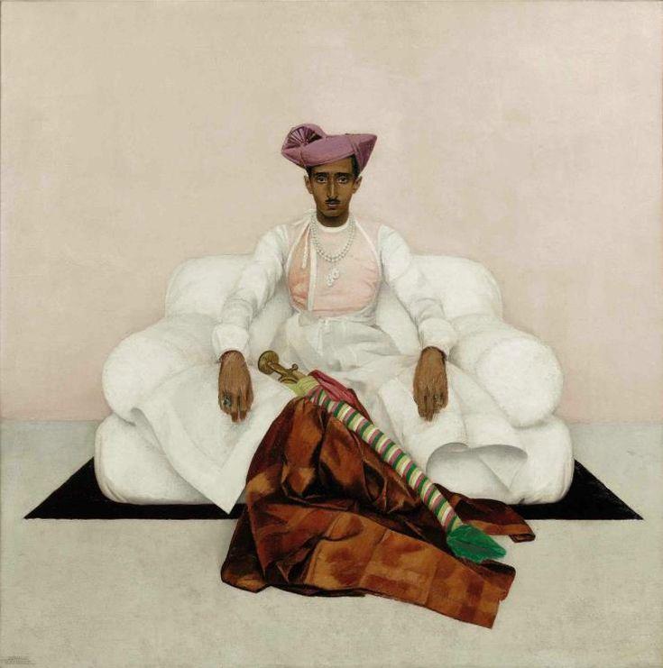 Bernard Boutet de Monvel, Le Maharadjah d'Indore, 1933. Photo: Sotheby's / Art digital studio.