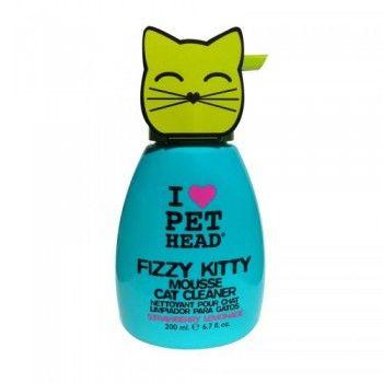 Pet Head Fizzy Kitty vaahtoshampoo. Hinta 17,90 €.
