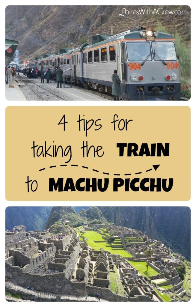 The best (easiest) way to get to Machu Picchu in Cuzco Peru is by train.  Here are 4 tips on how to get tickets, where to board and other tips for your South America trip