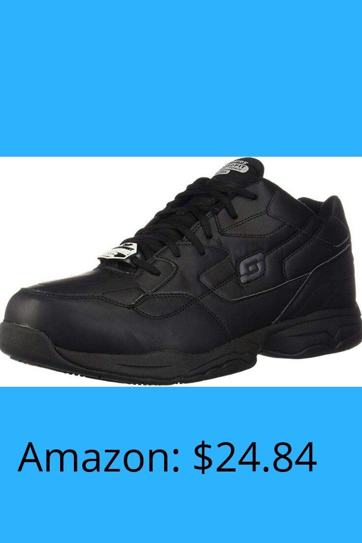 7b1d5c99 Skechers for Work Men's Felton Slip Resistant Relaxed-Fit Work Shoe ...
