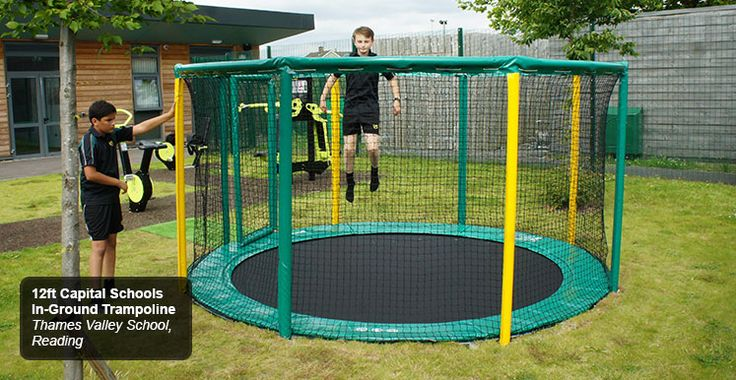 In-Ground Trampolines - Commercial Trampolines