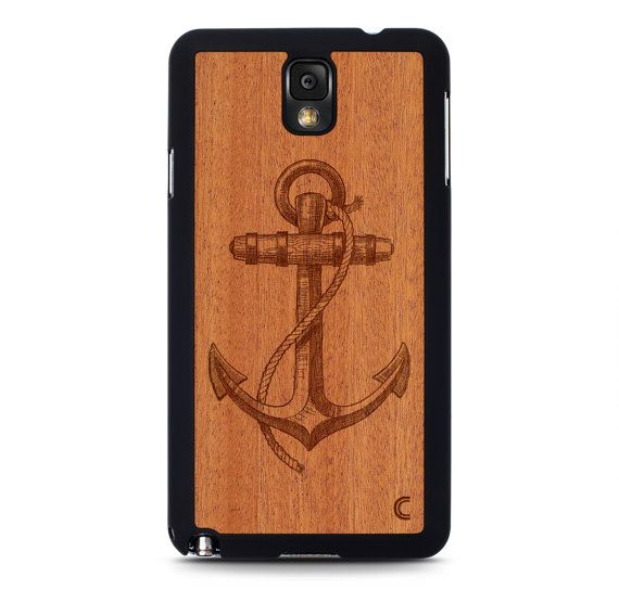 Samsung Galaxy Note 3 Case Anchor / Galaxy Note 3 by CraftedCover