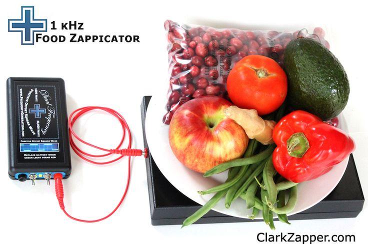 1 kHz Zapper + North Pole Speaker Box = Food Zappicator