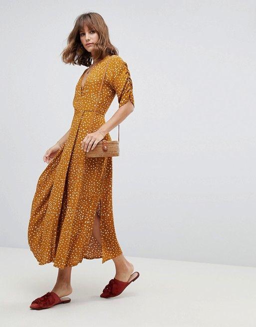 de7776851 Faithfull Chiara midi wrap dress | fabulous fashion | Dresses ...