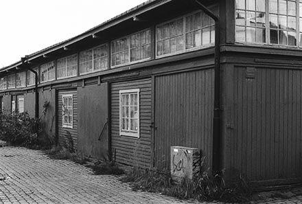 byggt 1910 magasinsbyggnader för tullverksamhet