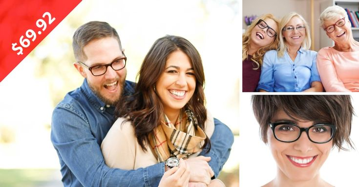 2 PAIR OF GLASSES FOR ONLY $69.92 - You'd be happy, too, if you just found out you can get 2 new pair of glasses for just $69.92! Stop by and gets yours today! (BONUS: Split this deal with your main squeeze - one for you, and one for him, too!)