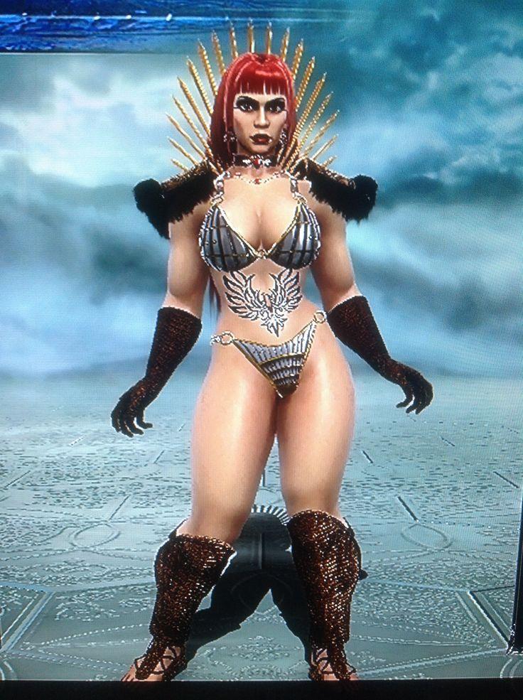 Soul Calibur V Red Sonja Created 2-2