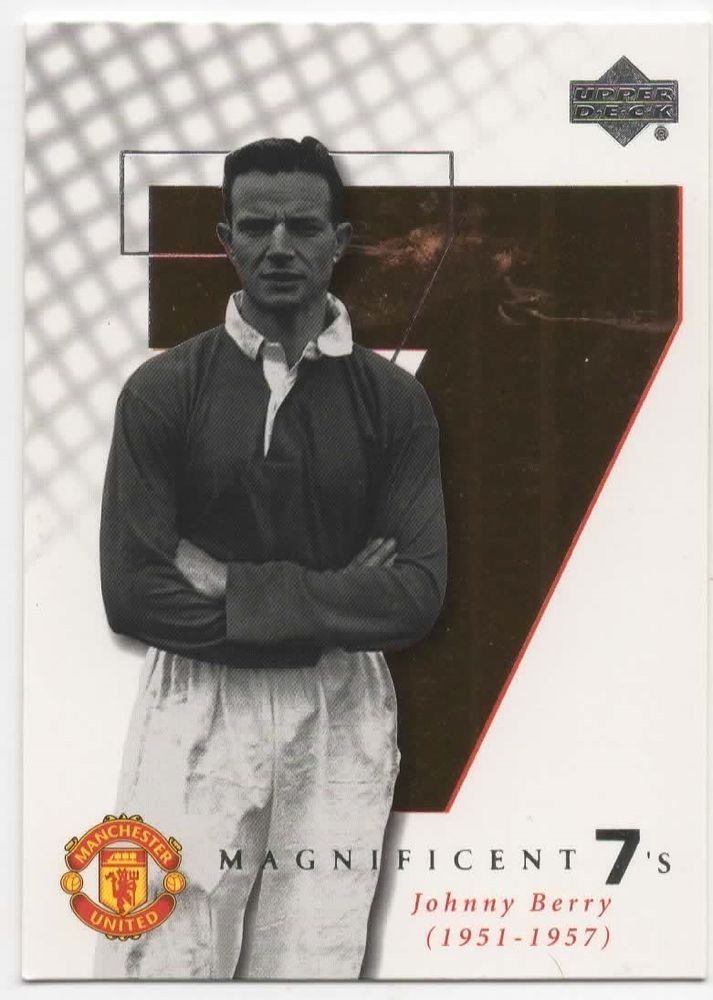 22fdb5335 Details about 2001- M6-JOHNNY BERRY-MANCHESTER-MAN UNITED-UTD ...
