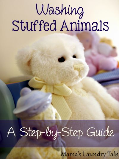 Washing Stuffed Animals - A Step-by-Step Guide from Mamas Laundry Talk