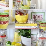 makeover for above the refrigerator cupboards