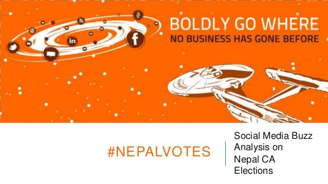 Social Media Buzz Analysis on Nepal CA Elections 2013