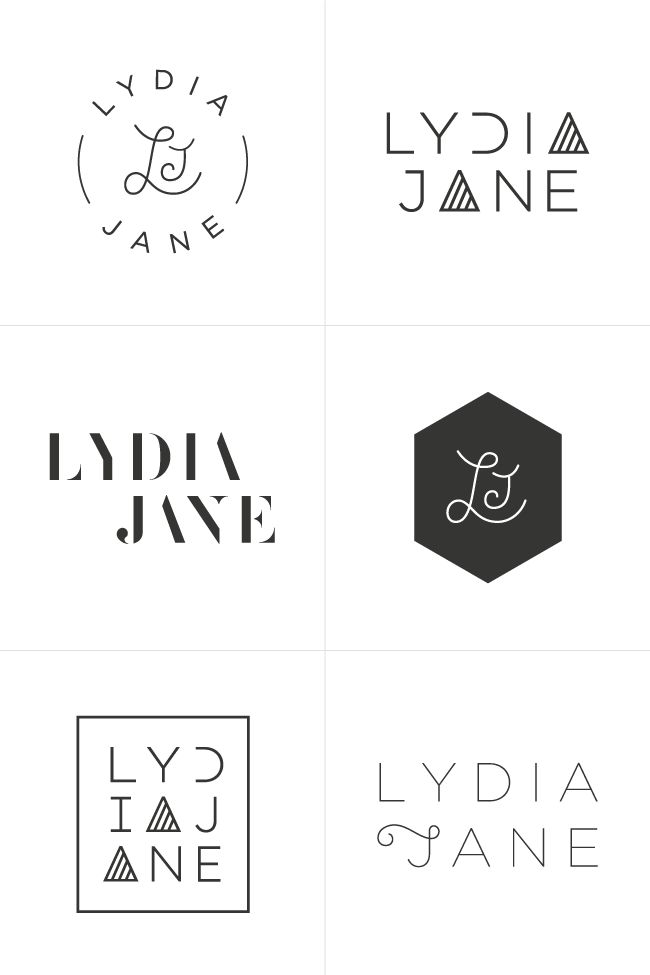 Branding Process for Lydia Jane | by Breanna Rose