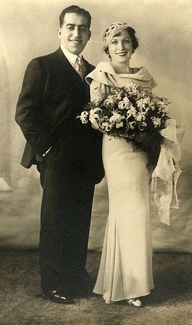 +~+~ Vintage Photograph ~+~+  Elegant Couple