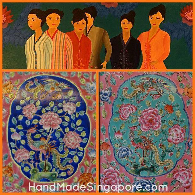 Peranakan Tiles And Painting At Village Hotel Katong