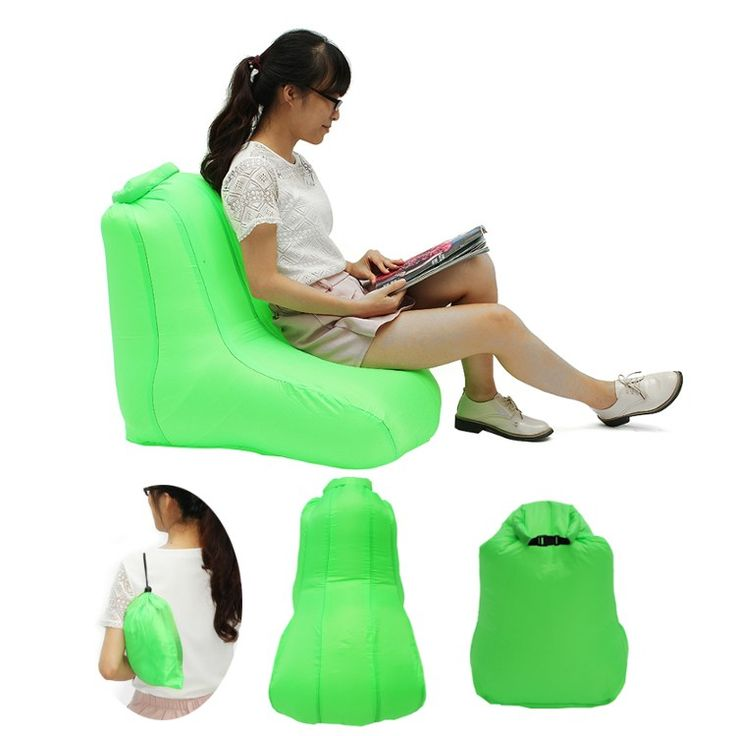 Fast Inflatable Lazy <font><b>bag</b></font> Air Sofa 190T Polyester Air Inflatable Chair Sofa Portable Water-resistant folding <font><b>sleeping</b></font> Camping <font><b>Bag</b></font>