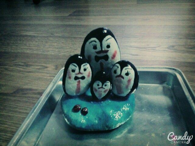 Neşeli penguenler
