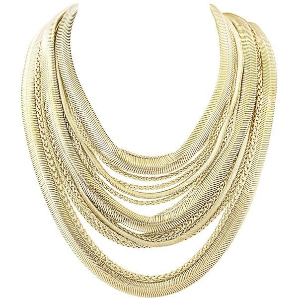 Wylie Statement Necklace in Gold - Kendra Scott Jewelry ❤ liked on Polyvore featuring jewelry, necklaces, gold jewelry, bib statement necklace, yellow gold chain necklace, magnetic necklace and magnet necklace