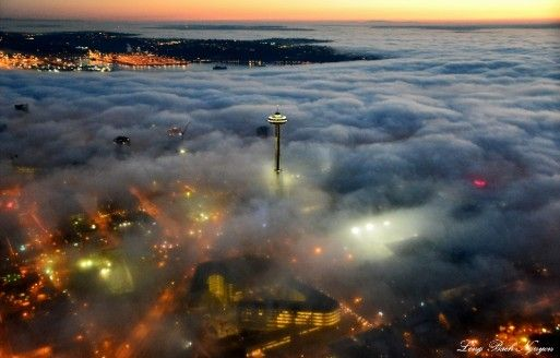 PHOTOS: See how Seattle fog can be beautiful, too