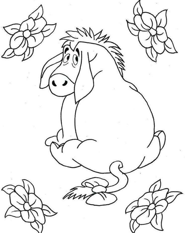 37 besten coloring pages Bilder auf Pinterest | Winnie the Pooh ...