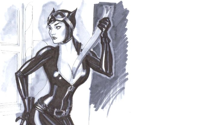 Catwoman Coloring Pages 1080 Hd Wallpaper