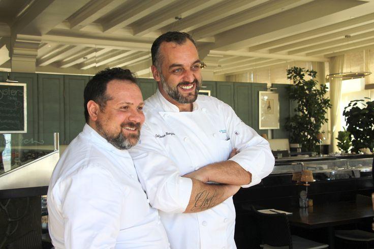 Quisisana's Chef Stefano Mazzone and Casa's Chef Alberico Nunziata!