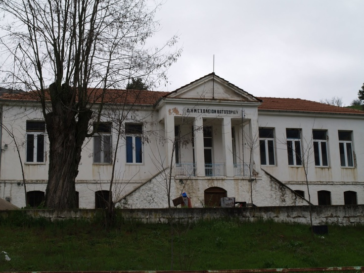 School in Vatohori (no longer functions as a school)