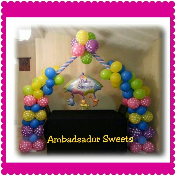 balloons arches arches baby baby shower balloons shower arches