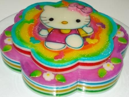 Gelatina Hello Kitty by TORTAS LIA ... VENEZUELA via Flickr