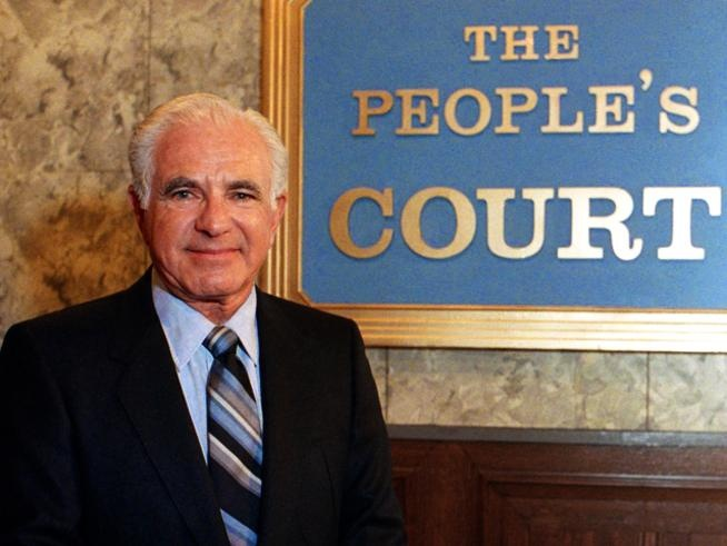 Judge Wapner of The Peoples Court.  We watched many years of episodes.  1981-1993