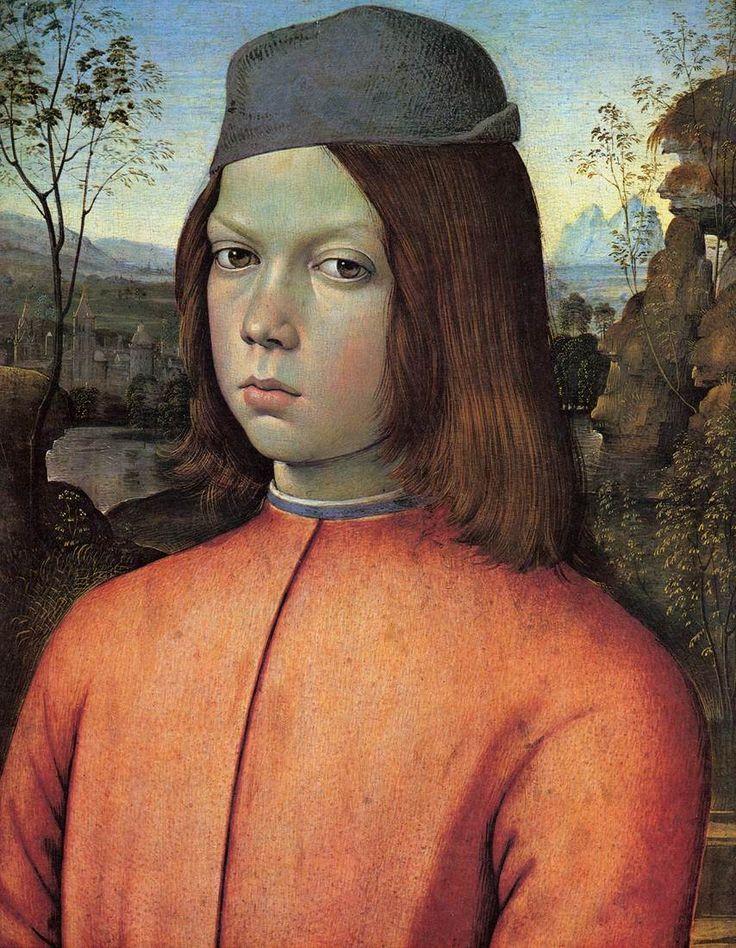 Pinturicchio - Portrait of a Boy