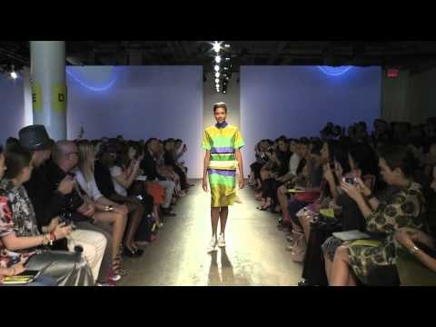 Marimekko s/s 2013 fashion show at New York Fashion Week.