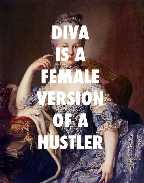 flyartproductions:  Tell me something: where your boss at? Martin van Meytens, Marie Antoinette (age 12) 1767 / Diva, Beyonce