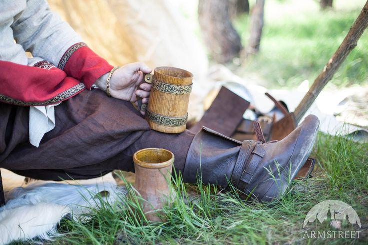 Pantaloni di lino in stile Vichingo