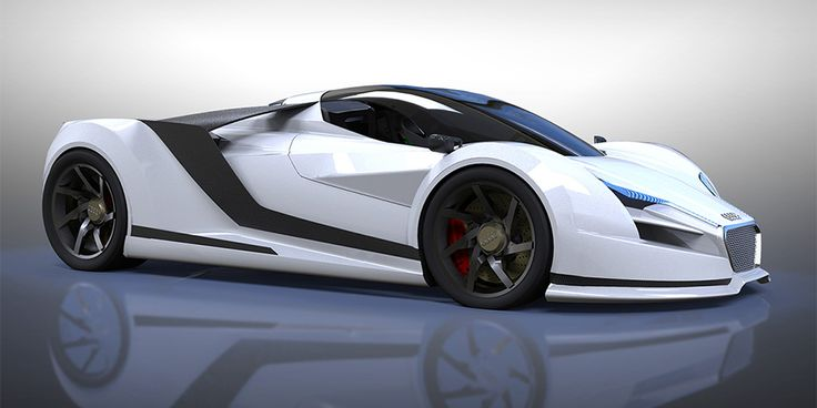 This is the Audi R10 concept, the R10 would be a new hyper car for Audi, going a step above the currently available R8.