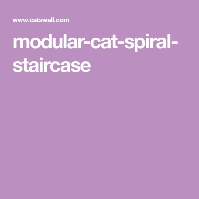 Best Modular Cat Spiral Staircase Spiral Staircase Cat 640 x 480