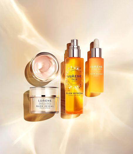 Valo [Light] product range from Lumene