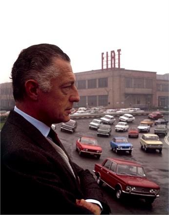 Giovanni Agnelli Turin, 1956