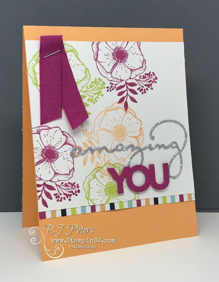 Image Result For Amazing You Stampin Up Flower Cards Homemade
