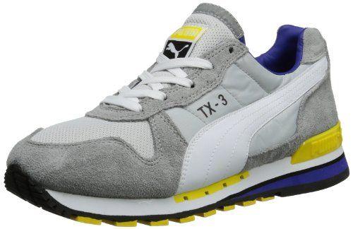 Puma TX-3 341044 Unisex-Erwachsene Sneaker, Grau (limestone gray-spectrum blue 70), EU 41 (UK 7.5) (US 8.5) - http://uhr.haus/puma-6/41-eu-puma-tx-3-341044-unisex-erwachsene-sneaker-71