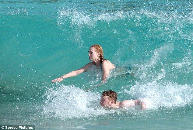 Marg Helgenberger displays her enviable bikini body in St Barts | St barts, China beach, Bikini