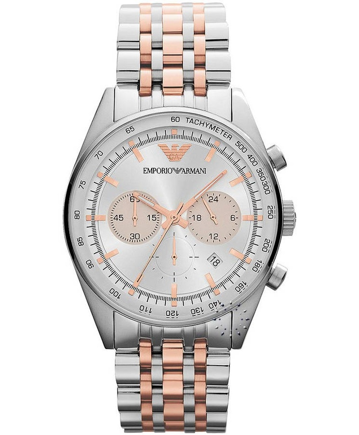 Emporio Armani Chronograph Stainless Steel Bracelet, 424€ http://www.oroloi.gr/product_info.php?products_id=33557