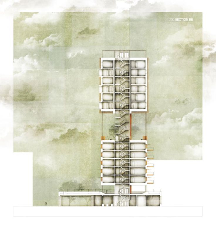 The RIBA President's Medals Student Awards :: To Live – Housing Development In Dennistoun by Lewis Allan McNeil - University of Strathclyde Glasgow UK