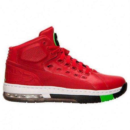 Men's Air Jordan Ol' School Off Court Shoes Gym Red/White/Black/Green Pulse  317223 605