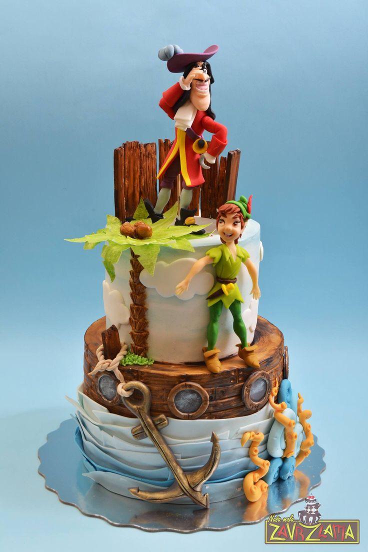 213 Best Disney S Peter Pan Cakes Images On Pinterest