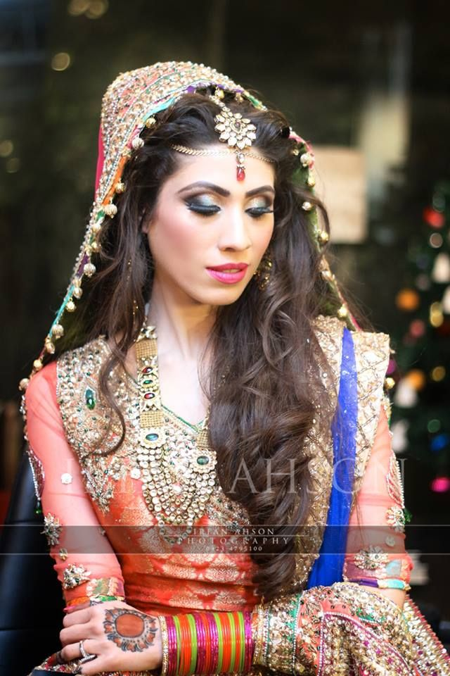 Mehndi Night Makeup : Images about mehndi dresses theme celebrations on