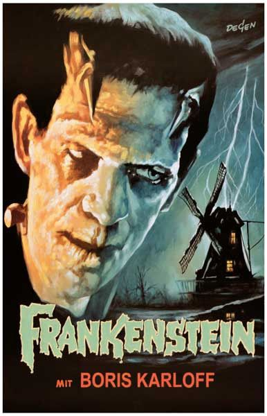 Frankenstein Boris Karloff Movie Poster 11x17 – BananaRoad