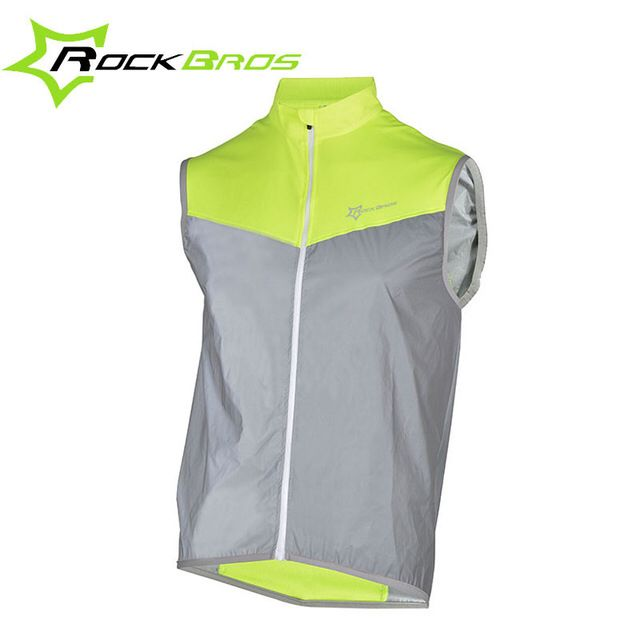 Check out this product on Alibaba.com APP ROCKBROS Reflective High Visibility Vest Safety Bike Sleeveless Reflective Sports Jersy Breathable Windproof Cycling Wear
