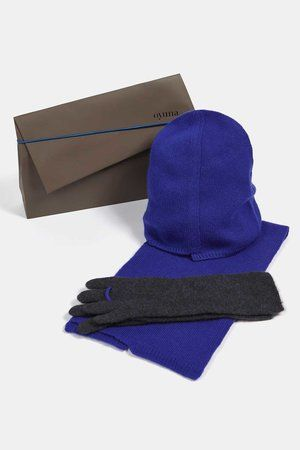 Ika Cashmere Hat in Ultramarine