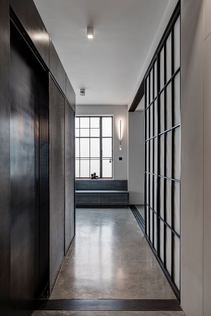 Old warehouse in montreal transformed into a dazzling contemporary - This Apartment S Industrial Interior Was Inspired By The Old Factory Space It Was Built In