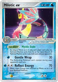 Milotic ex pokemon card